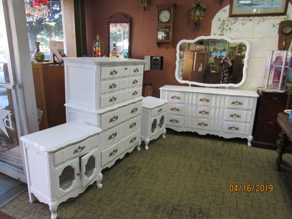 French Provincial Bedroom Set by Bassett