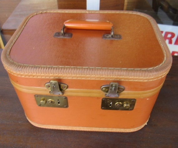 Leather train case