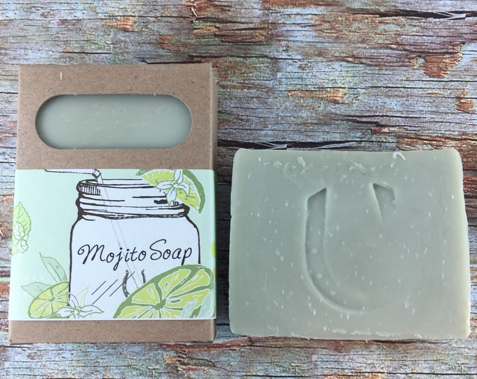 Featured listing image: Mojito Soap