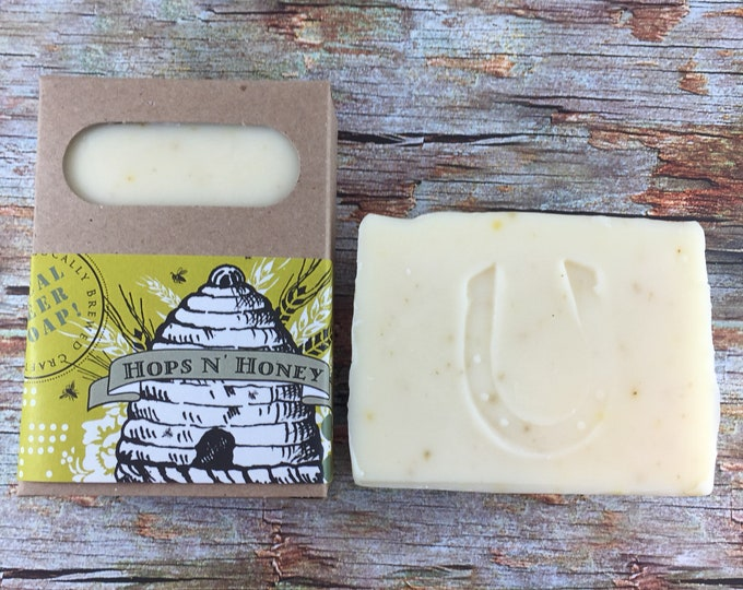Featured listing image: Hops n' Honey beer soap