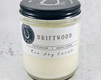 Driftwood Eco Soy Vegan Candle