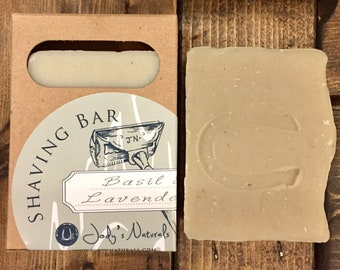 Basil & Lavender Shaving Bar