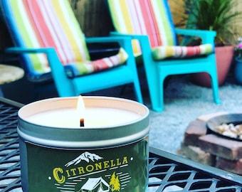 Citronella Camp Candle