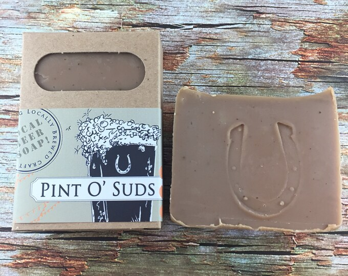 Featured listing image: Pint O' Suds beer soap
