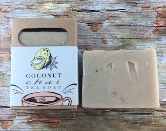 Coconut Chai Tea Soap