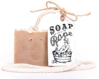 Vetiver & Bergamot Soap on a Rope