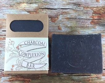 Detoxifying Charcoal Complexion Bar