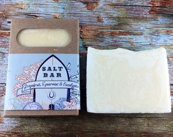 Grapefruit, Spearmint & Eucalyptus Salt Bar