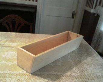 Wooden Window Box Planter