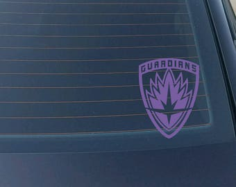 Marvel Guardians of the Galaxy Decal