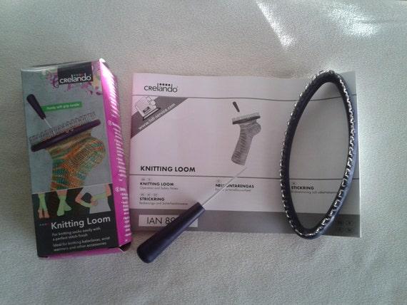Knitting Loom Kit für perfekt fertigen Socken Pulswärmer   Etsy