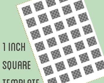 Gift tag label template 2 by 4 inch retangle do it digital collage template 1 by 1 inch square do it yourself digital collage instant download solutioingenieria Image collections
