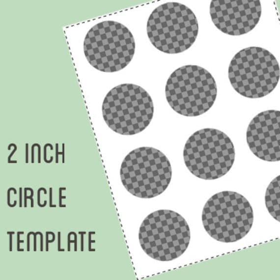 digital collage template 2 inch circle bottle cap template etsy