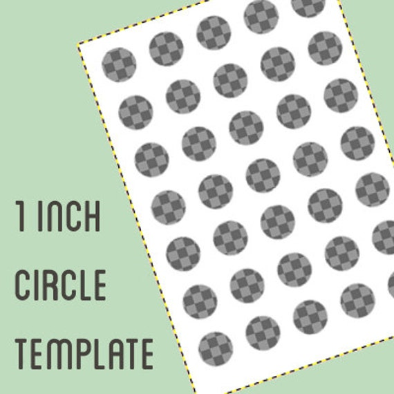 digital collage template 1 inch circle bottle cap template etsy