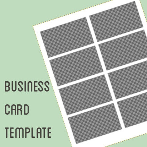 Business card template design your own business cards using etsy image 0 wajeb Gallery