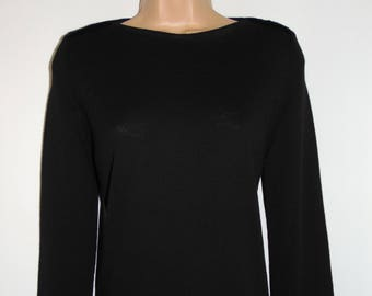 Laura Ashley Vintage New With Tag, Extrafine Merino Wool Longline Versatile Jumper, Pullover, Sweater, Size Small