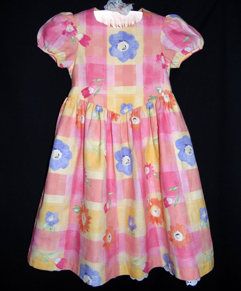 bef4b919a6c Laura Ashley vintage Mother   Child floral cotton dress with