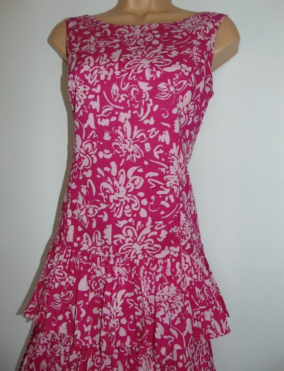 Laura Ashley Vintage Tiered Cross Wrapped Rear, Su