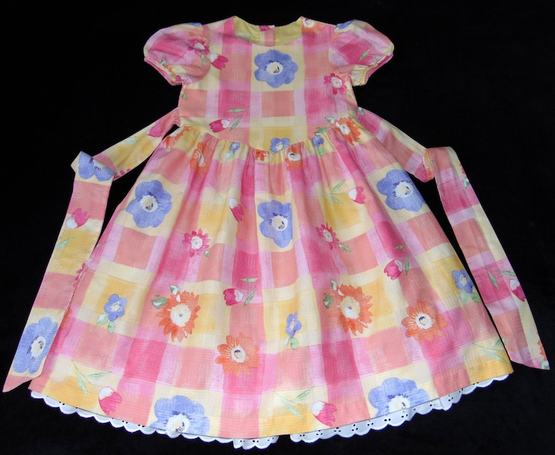51d1fd1323cc Laura Ashley Vintage Mother & Child Cotton Floral Girls | Etsy