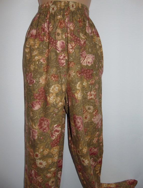 Laura Ashley Vintage 80's Autumn Winter Cotton/ Wo