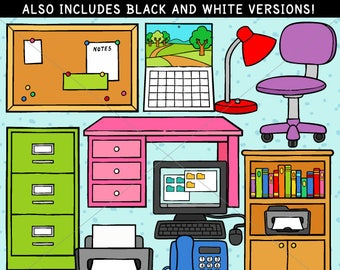 Home Office Clip Art - personal use/limited commercial use