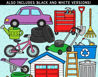 Garage Clip Art - personal use/limited commercial use