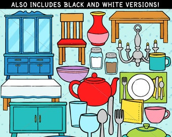 Dining Room Clip Art - personal use/limited commercial use