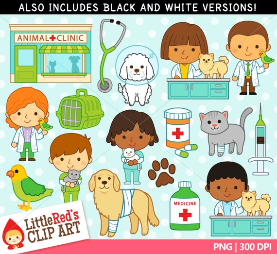 Vet Veterinarian Clipart And Lineart Personal And Commercial Use
