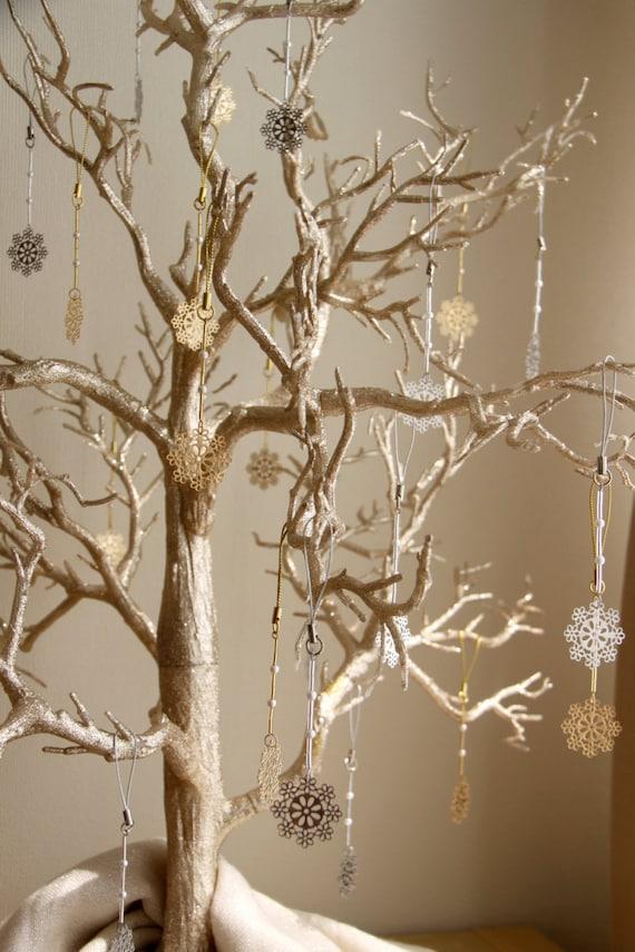 Winter Hochzeit Wish Tree mit Schneeflocke Favors Hochzeit   Etsy