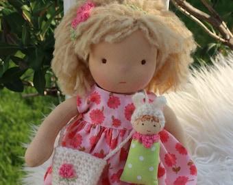 S A L E !!! Waldorf doll, doll, waldorf baby,steiner doll, organic doll, fabric doll, cloth doll, handmade