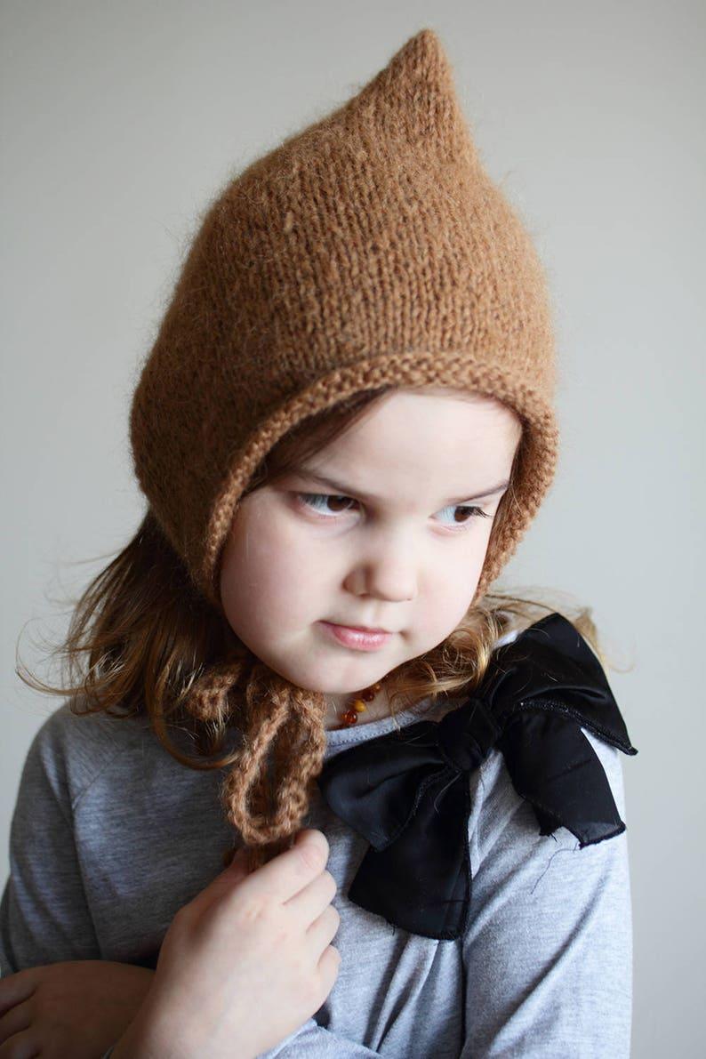 ef383ea6dc6b Newborn pixie bonnet baby bonnet newborn bonnet toddler