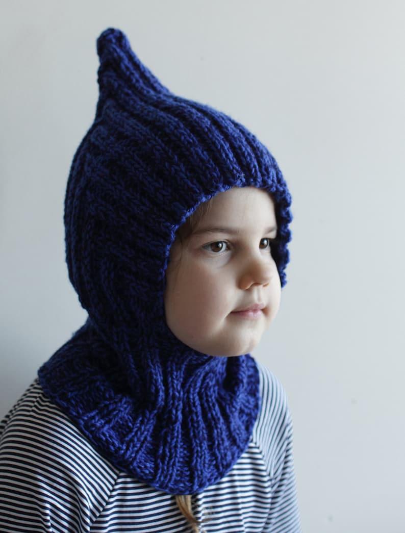 6123c3bc21a43 Ready to ship rts child to teen size blue balaclava | Etsy