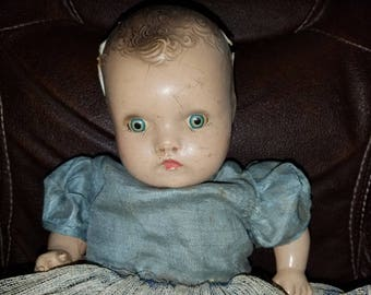 Antique Composition Doll (A Horsman Doll)