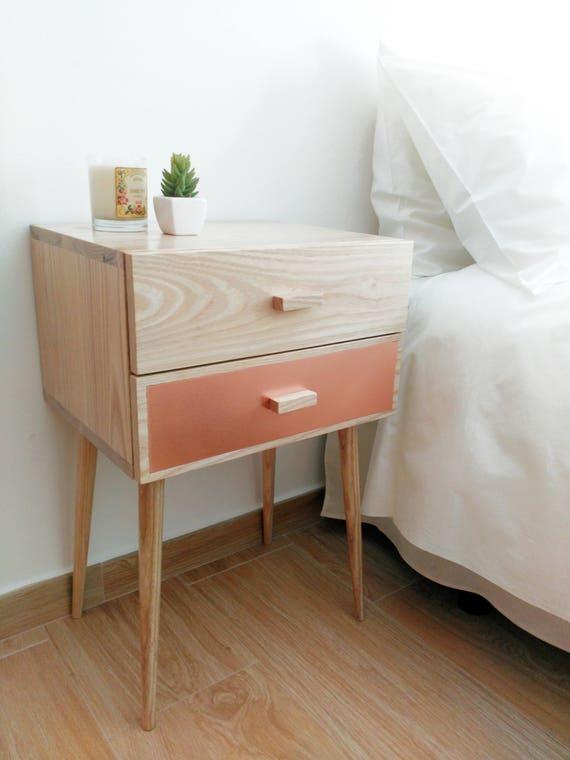GroBartig Nachttisch Paar Schlafzimmer Möbel Mitte Jahrhundert | Etsy