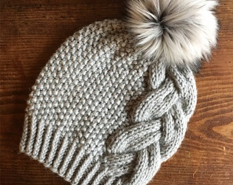 KNITTING PATTERN: Moonstone Beanie