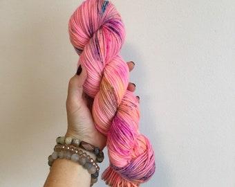 DK/TART on dk (100% superwash merino wool; 231 yards/100g)