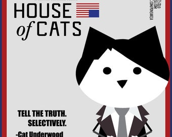 House of Cards. Frank Underwood. sticker 3.9 x 3.9 in
