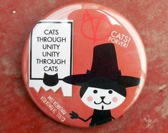 V for Vendetta. pinback button 2.16 in