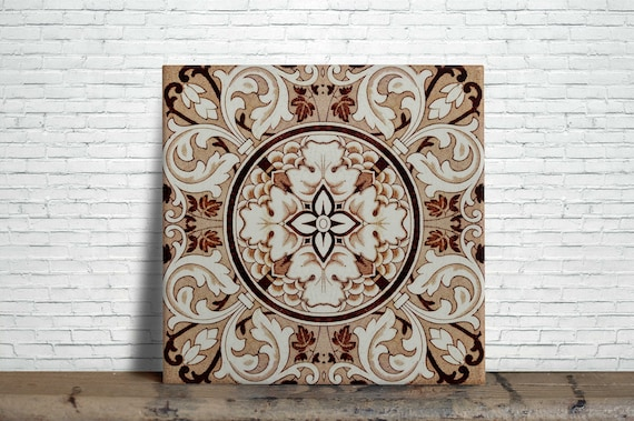 kitchens 20 William Morris Reproduction Decorative Ceramic wall tile Fireplace
