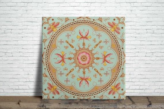 Fireplace Set 10 Tile Ceramic Alphonse Mucha Art Nouveau Reproduction #2