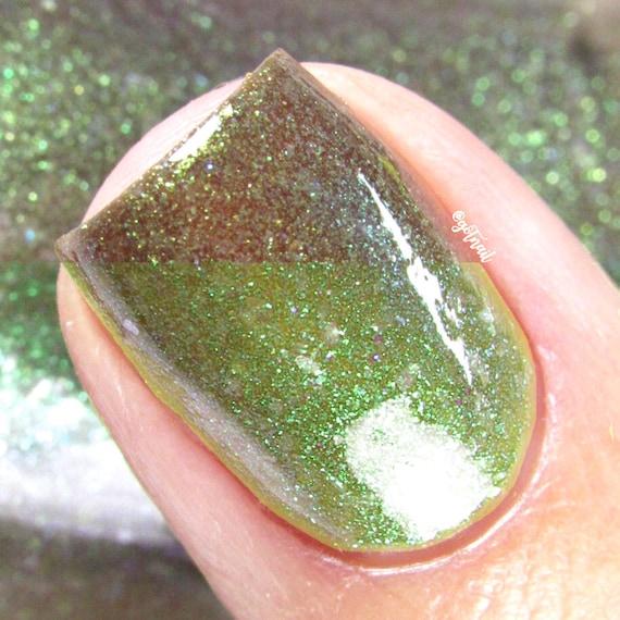 Esmalte de uñas verde - Color cambio térmico humor Polaco - matar al ...