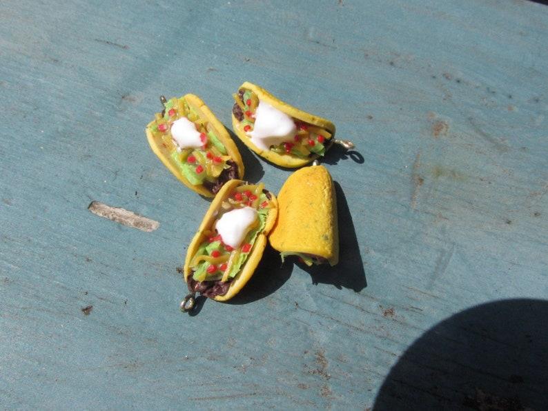 Taco Earrings Fake Food Jewelry Cinco De Mayo