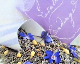SOMETHING BLUE, Wedding Lavender, Flower Confetti, biodegradable confetti, dried lavender,  wedding confetti, for fairy tale endings