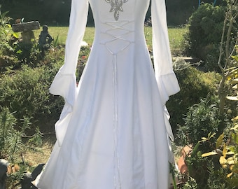 Medieval wedding dress | Etsy