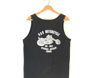 Motorcyclists Squamish BC Size Large. Sea to Sky Mountain BBQ 1994 Biker Gift 90/'s Unisex Tank Top