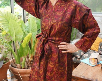 "PROMO 95 instead of 120 - mixed coat Kimono silk double 'Yangon""offered"