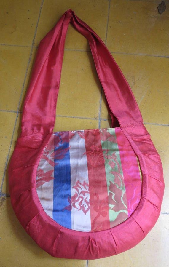 9f1b4defa34d SALE 25 instead of 38 bag Rasmeymade of silk from