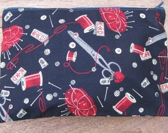 """""""I Couds"""" lined cotton multi-purpose bag"""