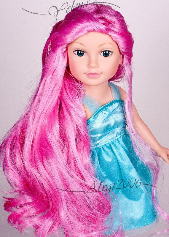 18 pink hair nude