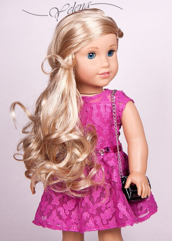 made to order custom american girl grace thomas with tenney etsy